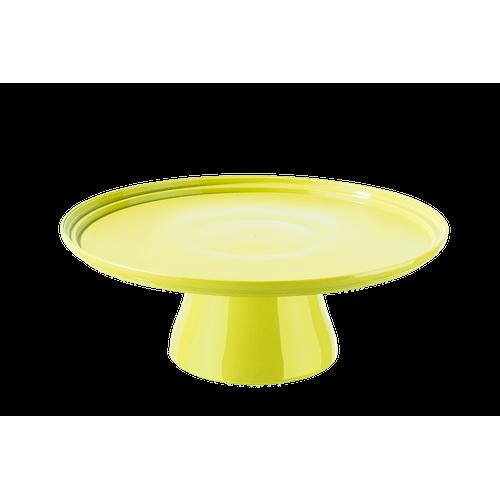 Boleira Cake Ø32 Cm 32,5 X 32,5 X 11,6 Cm Amarelo Coza