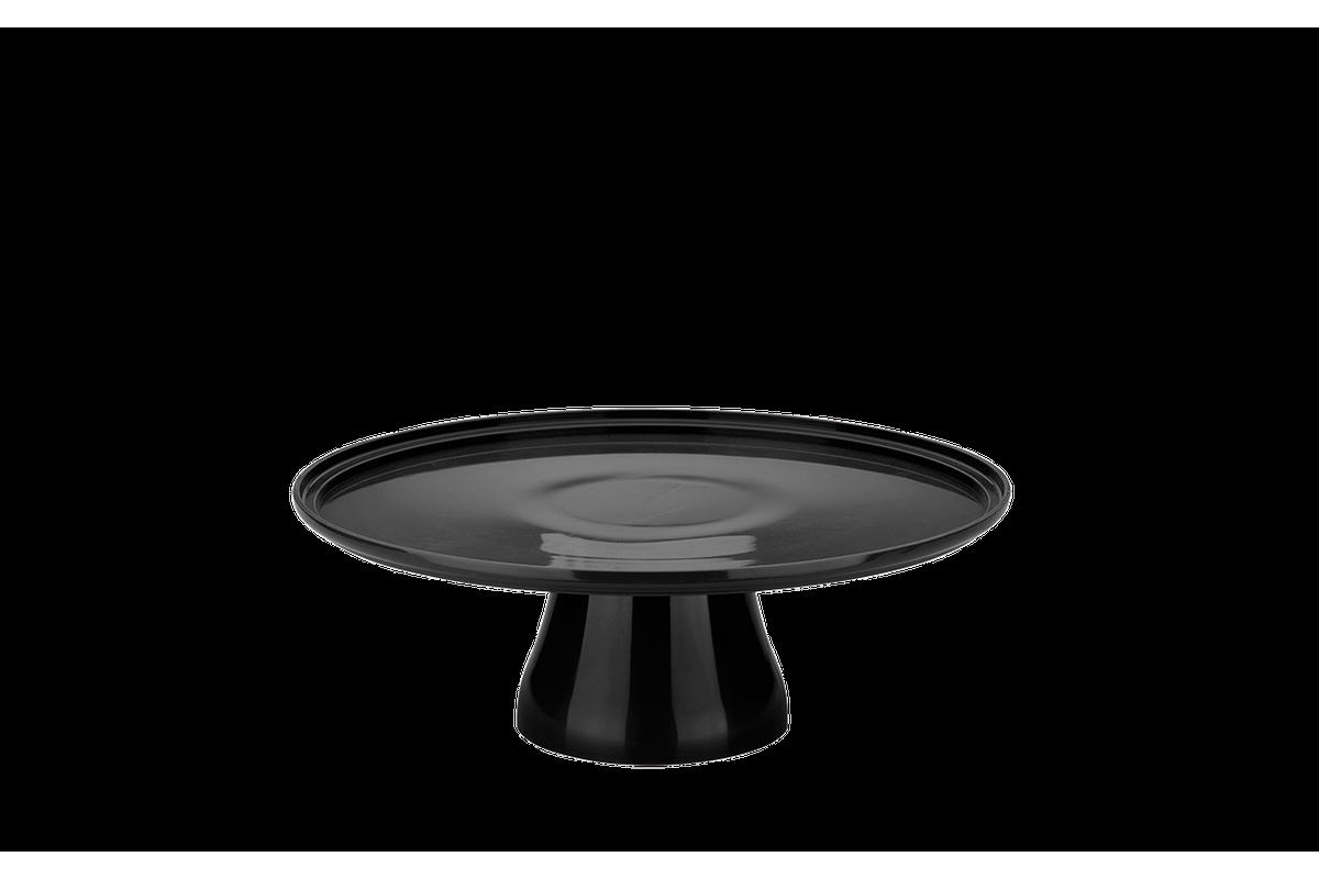 Boleira Cake Ø32 Cm 32,5 X 32,5 X 11,6 Cm Preto Coza