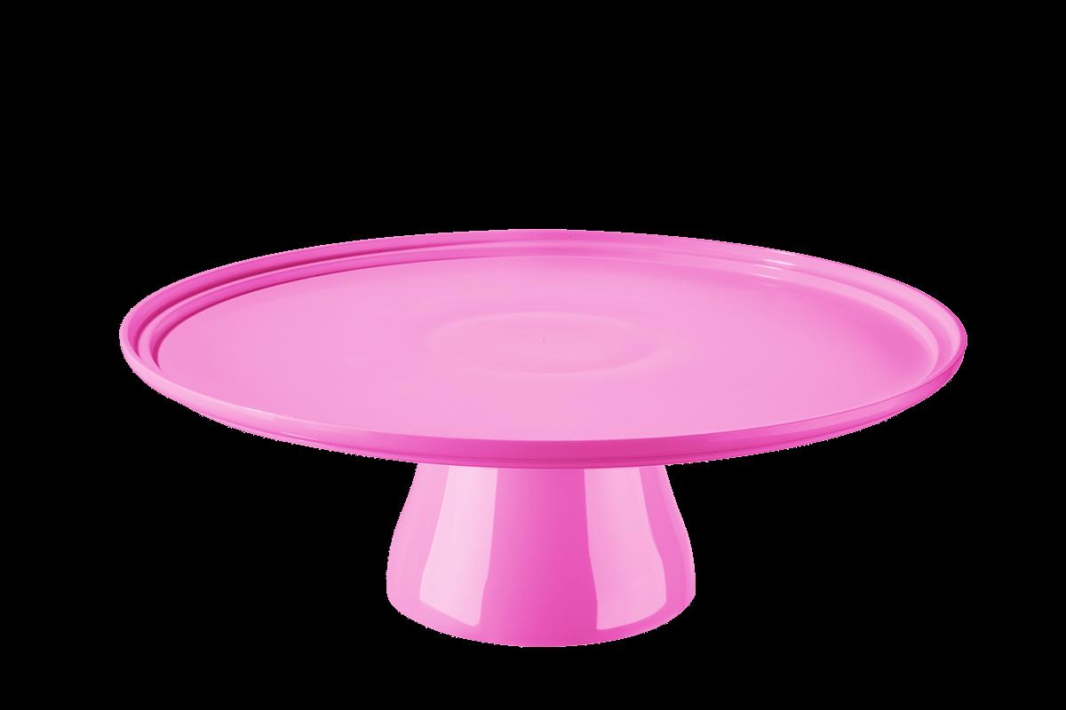 Boleira Cake Ø32 Cm 32,5 X 32,5 X 11,6 Cm Rosa Coza