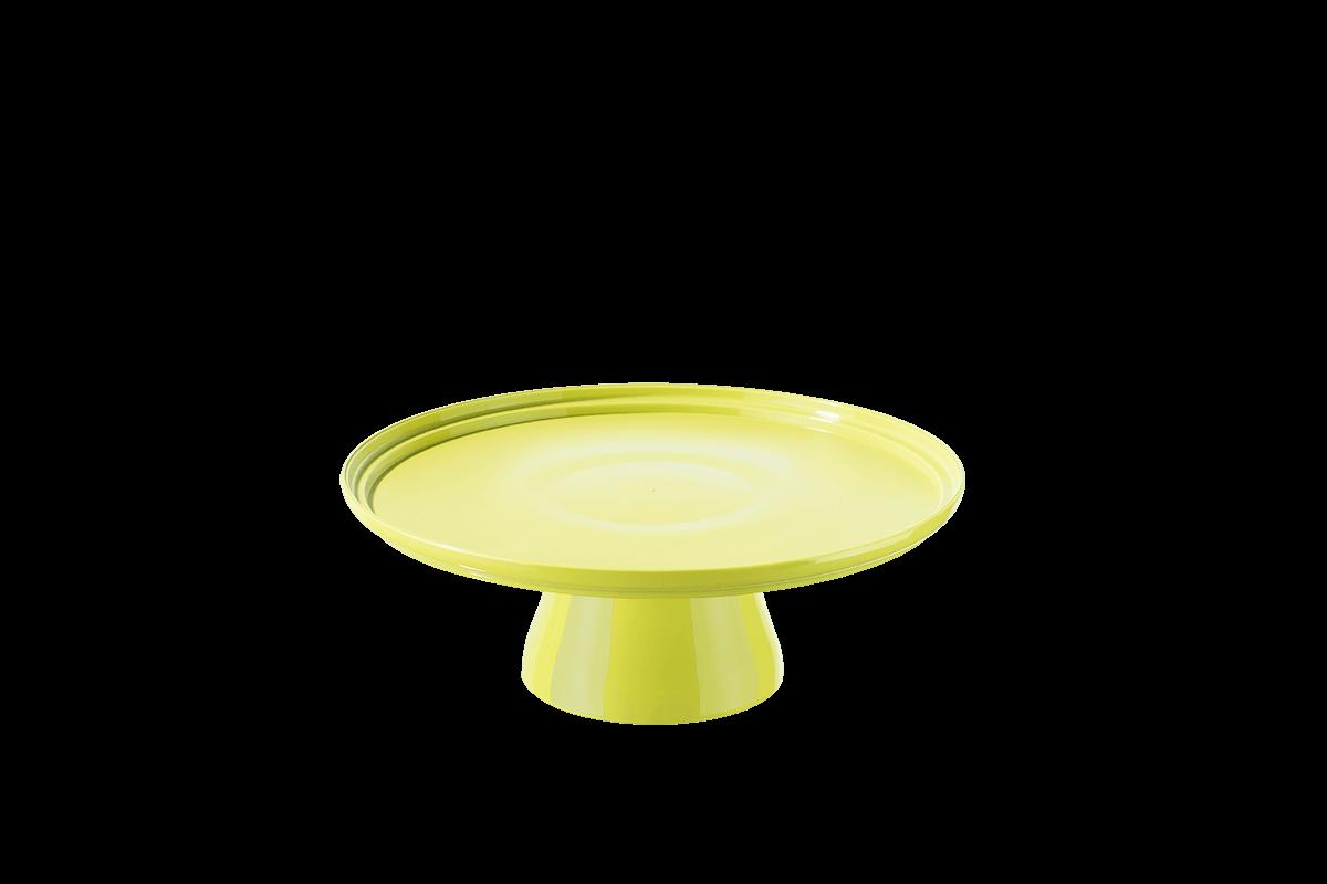 Boleira Cake Ø19,5 Cm 19,5 X 19,5 X 7,2 Cm Amarelo Coza