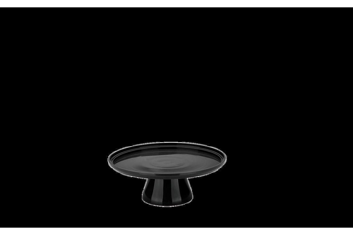 Boleira Cake Ø19,5 Cm 19,5 X 19,5 X 7,2 Cm Preto Coza
