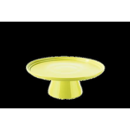 Boleira Cake Ø25 Cm 25 X 25 X 9,3 Cm Amarelo Coza