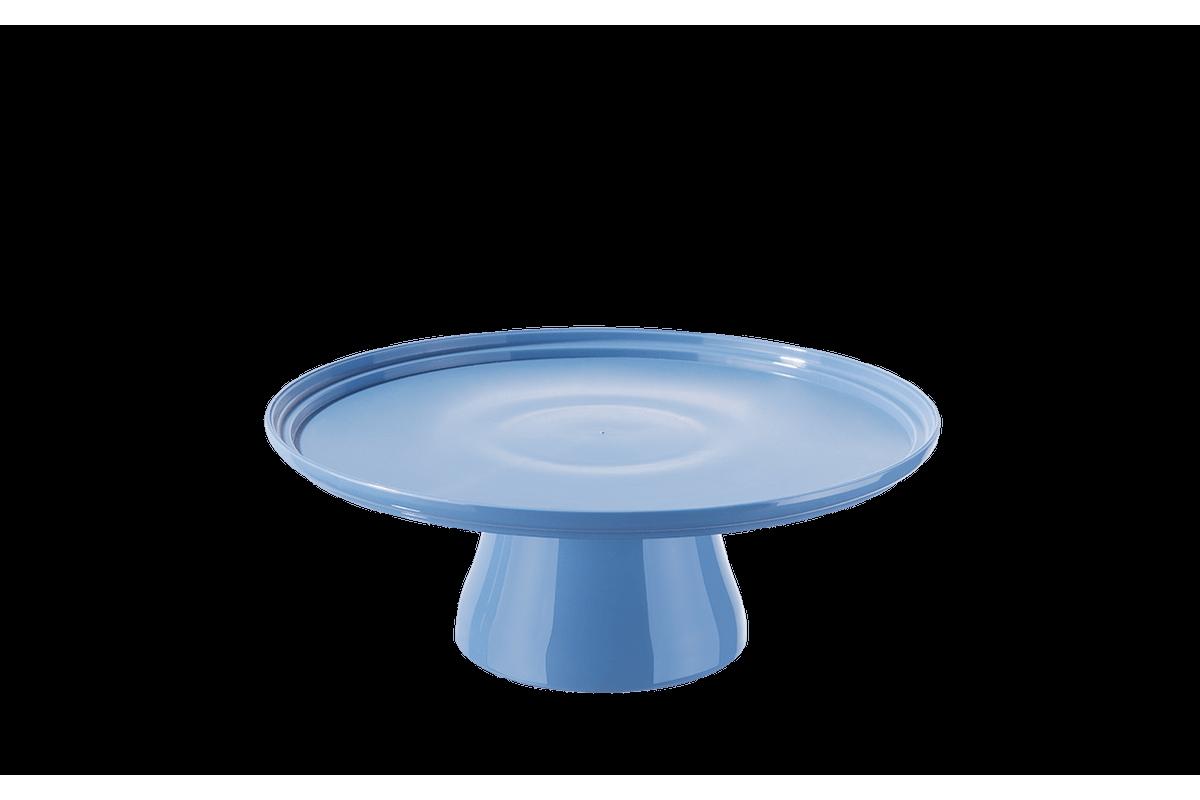 Boleira Cake Ø25 Cm 25 X 25 X 9,3 Cm Azul Coza