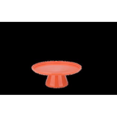 Boleira Cake Ø25 Cm 25 X 25 X 9,3 Cm Tangerina Coza