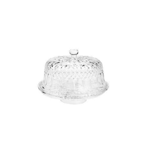 Boleira de Cristal com Tampa Diamante 7185 Lyor