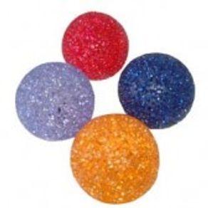 Bolinha Plástica com Sino - Cores Variadas Unidade