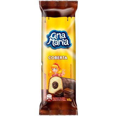 Bolinho Ana Maria Pullman Cobertura de Chocolate 45g