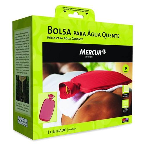 """Bolsa Água Quente Mercur """"p"""" 500ml Vermelha"""