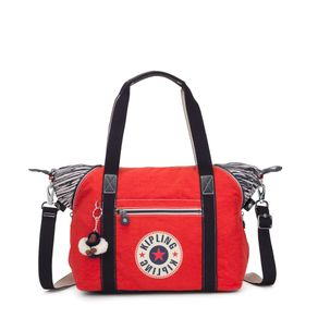 Bolsa Art Vermelha Active Red Bl Kipling