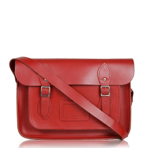 Bolsa Cambridge Satchel Vermelha