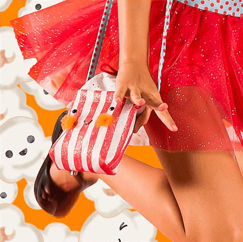 Bolsa Carnaval Pipoquinha Esmeralda e Vermelho/u