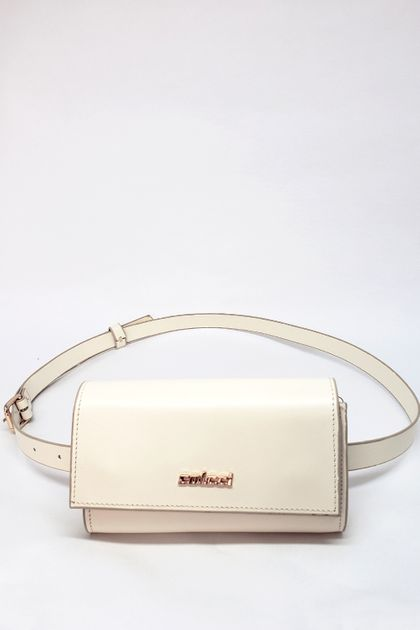 Bolsa Colcci Belt Bag Couro - Off White