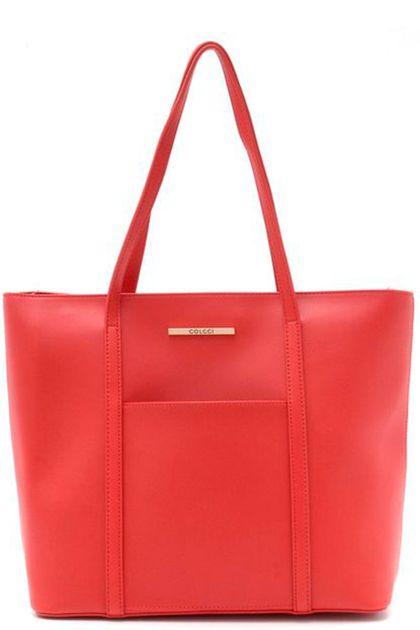 Bolsa Colcci Shopper Ellen - Vermelho - U