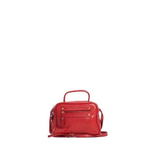 Bolsa Couro Basic Vermelho - U