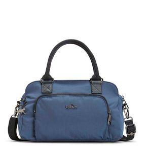 Bolsa de Mão Alecto Azul Satin Blue C Kipling