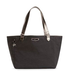 Bolsa de Ombro Lots Of Bag Cinza Sirocco Grey Kipling
