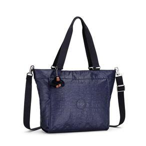 Bolsa de Ombro New Shopper S Azul Lacquer Indigo Kipling