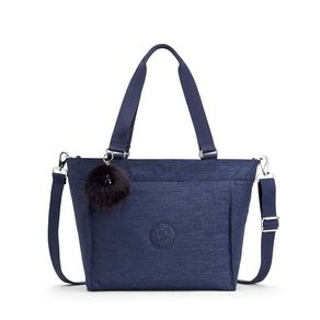 Bolsa de Ombro New Shopper S Azul Spark Night Kipling