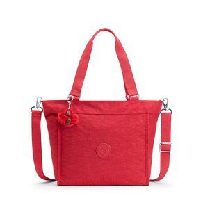 Bolsa de Ombro New Shopper S Vermelha Radiant Red C Kipling