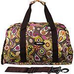 Bolsa de Viagem Estampa Flores - Batiki