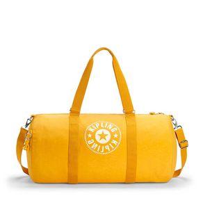 Bolsa de Viagem Grande Onalo L Amarela Lively Yellow Kipling