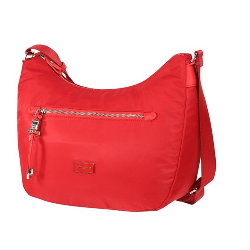 Bolsa Fashion City Hobo Vermelha