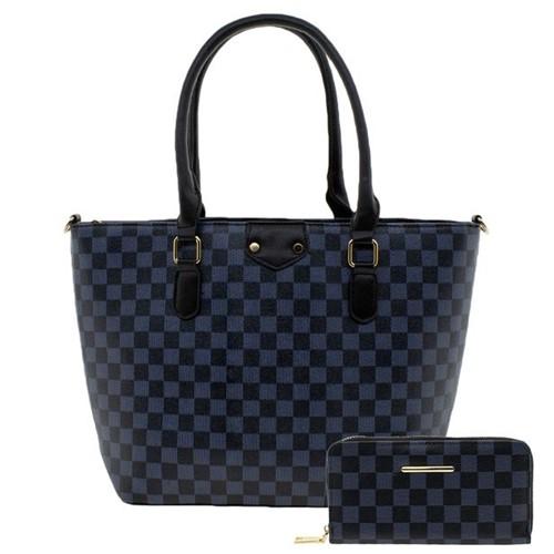 Bolsa Feminina com Carteira Fuseco - Wbfp88069 Preto