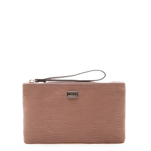 Bolsa Feminina Mini Bag - Couro Raiz Rose UN