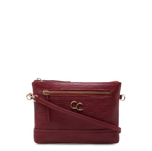 Bolsa Feminina Mini Bag - Couro Raiz Scarlet UN