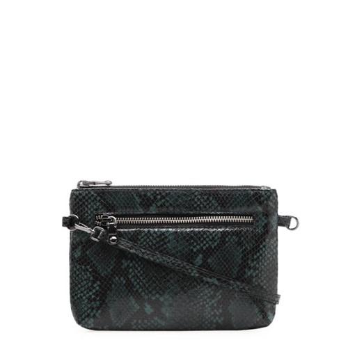 Bolsa Feminina Mini Bag New - Couro Python Forest UN