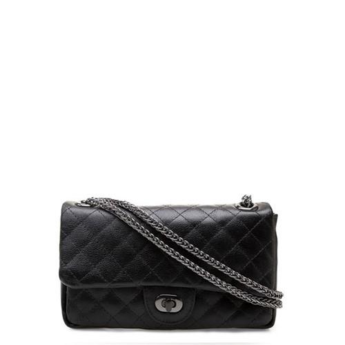Bolsa Feminina Shoulder Bag - Couro Floater Preto UN