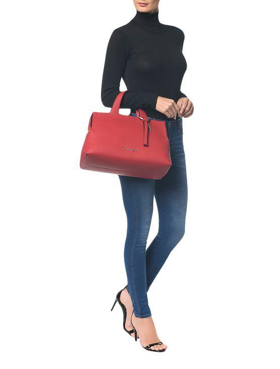 Bolsa Grande Calvin Klein Neat - Vermelho - U
