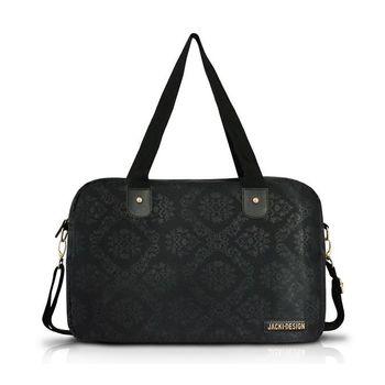 Bolsa Jacki Design de Viagem/Academia Damasco Abc15086-Pr Preto T Un
