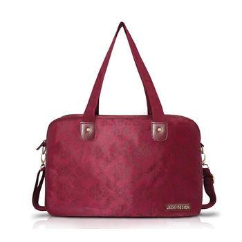 Bolsa Jacki Design de Viagem/Academia Damasco Abc15086-Vi Vinho T Un