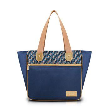 Bolsa Jacki Design G Ahl17567-Az-Z Azul Unico