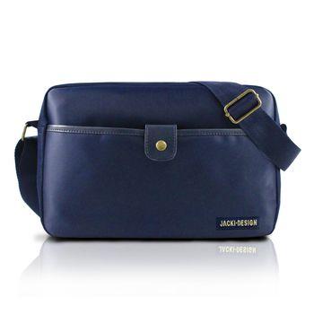 Bolsa Jacki Design Transversal Masculina Ahl17208-Az Azul T Un