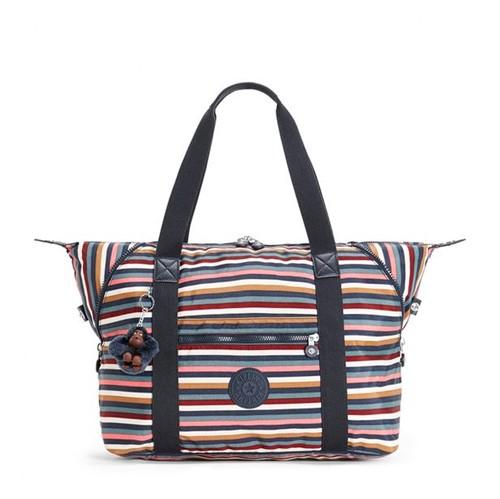 Bolsa Kipling Art M Multi Stripes Bl-Único