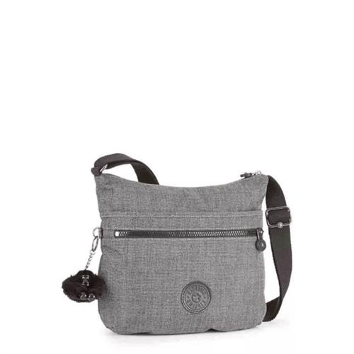 Bolsa Kipling Arto-Cotton Grey