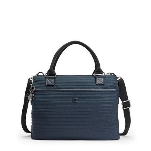 Bolsa Kipling Caralisa Serious Blue-Único