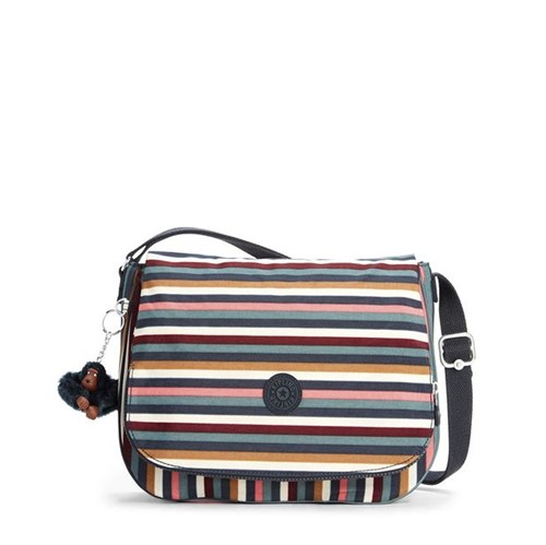 Bolsa Kipling Earthbeat M Multi Stripes Bl-Único