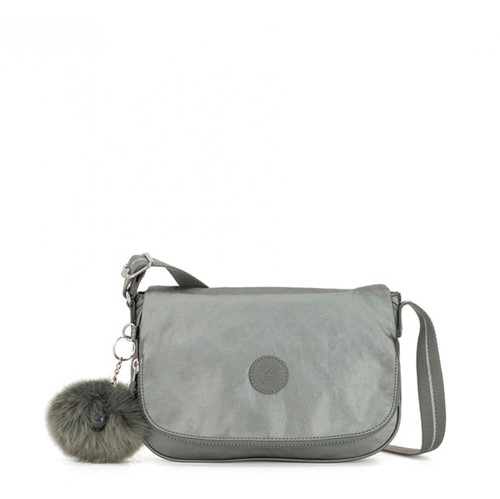 Bolsa Kipling Earthbeat S Metallic Stony-Único