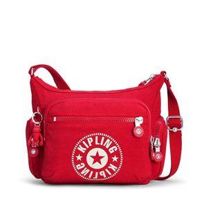 Bolsa Kipling Gabbie S Vermelha