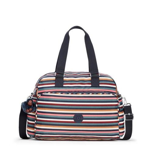 Bolsa Kipling July Bag Multi Stripes-Único