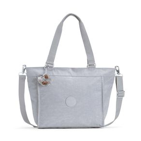 Bolsa Kipling New Shopper S Cinza