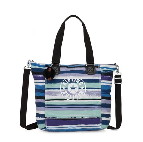 Bolsa Kipling Shopper C Joyfull Stripes-Único