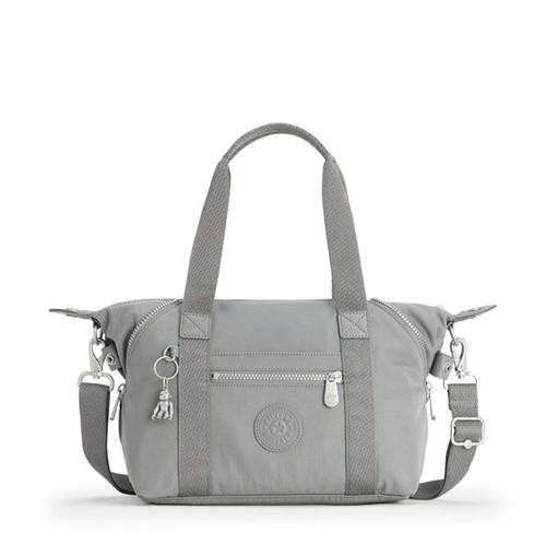 Bolsa Kiplling Art Mini Smooth Grey-Único