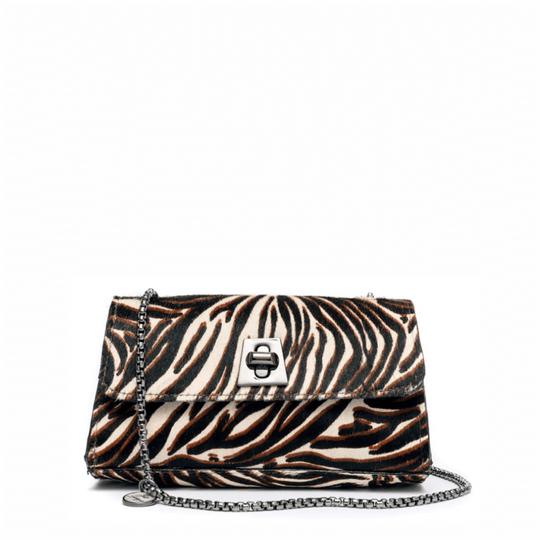 Bolsa La Spezia Letícia Pelo Zebra