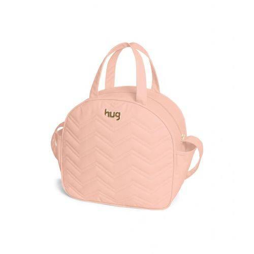 Bolsa Maternidade Chevron Rosa G - Hug