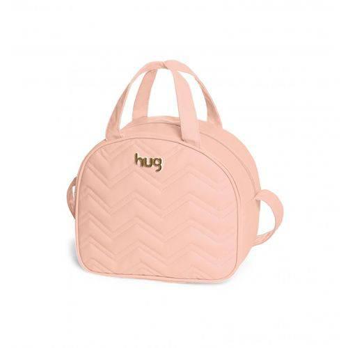 Bolsa Maternidade Chevron Rosa M - Hug