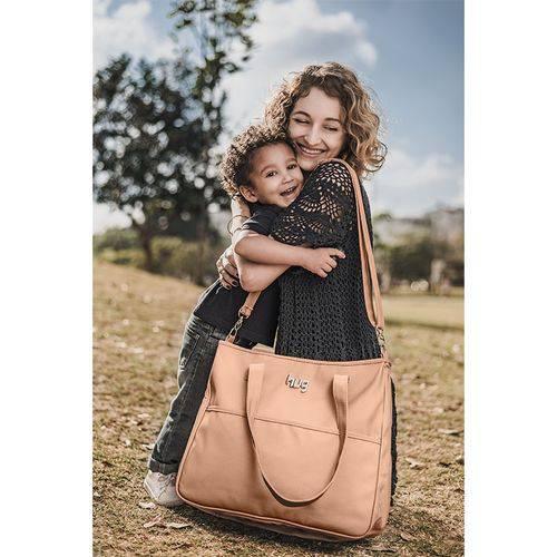 Bolsa Maternidade com Trocador Classic Bege - Hug